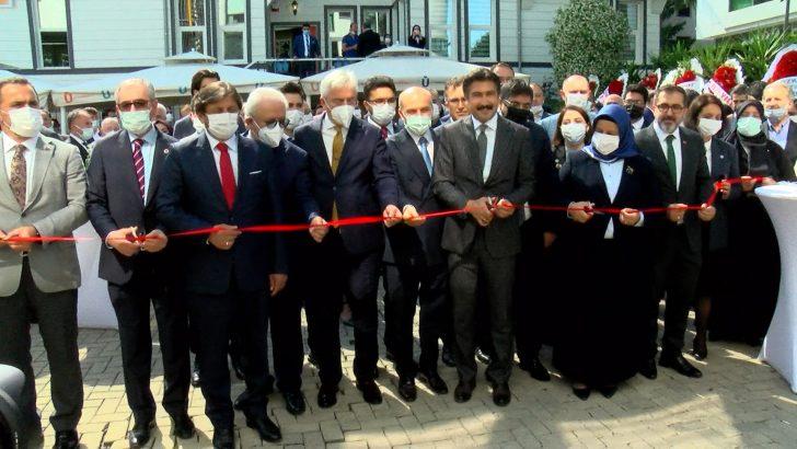 İstanbul 2 Nolu Barosu'nun Üsküdar'daki merkez yerleşkesi açıldı
