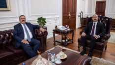 HSK eski Başkanvekili Yılmaz'dan Bakan Gül'e ziyaret