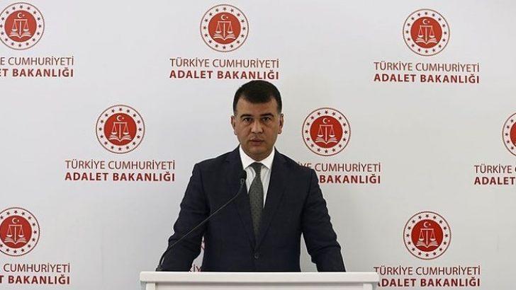 """Adalet Bakanlığı Sözcüsü Çekin: """"289 fiili darbe davasının 288'i karara bağlandı"""""""