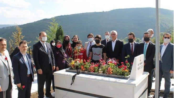 Şehit Cumhuriyet Savcısı mezarı başında anıldı