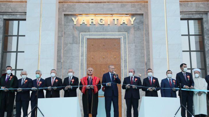 Başkan Erdoğan'dan Adli Yıl açılışında önemli açıklamalar!