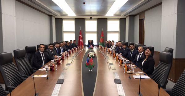 Yargıtay Cumhuriyet Başsavcısı Bekir Şahin, Azerbaycanlı heyeti kabul etti